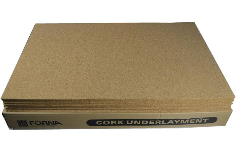 cork uderlayment 3mm