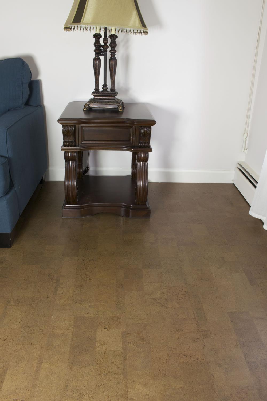 Beown Leather Cork Hallway Flooring