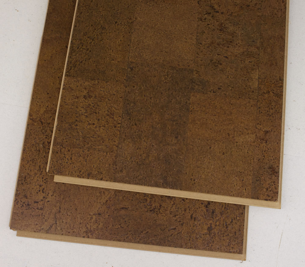 Beown Leather Cork Hallway Flooring Bar Planks