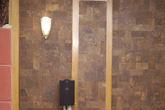 Cork wall tiles cancork floor inc for Cork flooring on walls