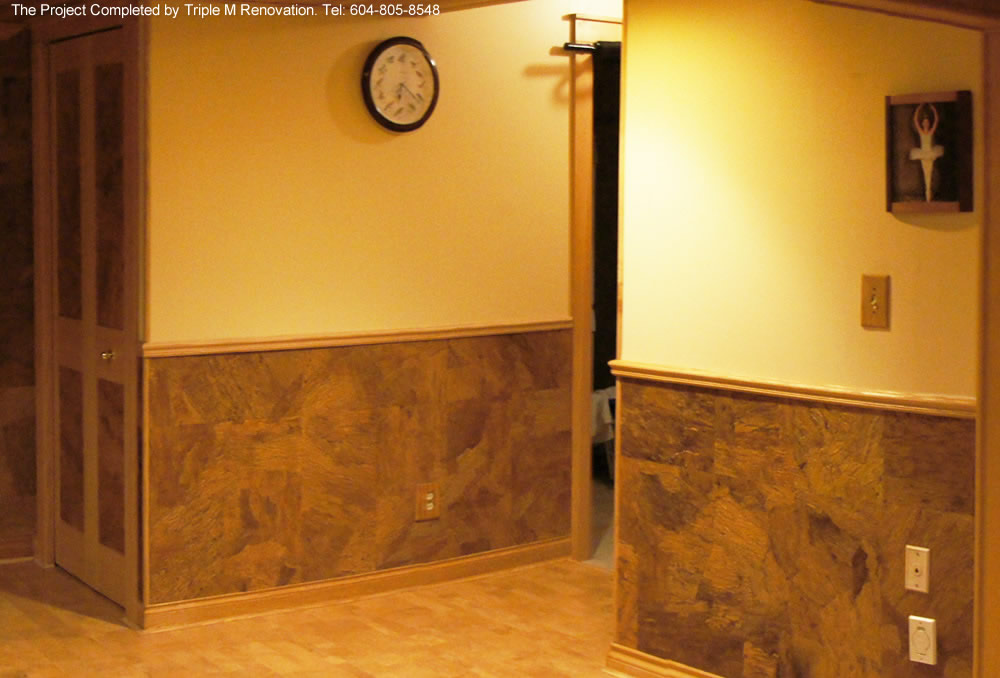 Cork wall tiles for Cork flooring on walls