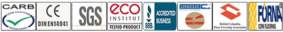 cork flooring store certifications