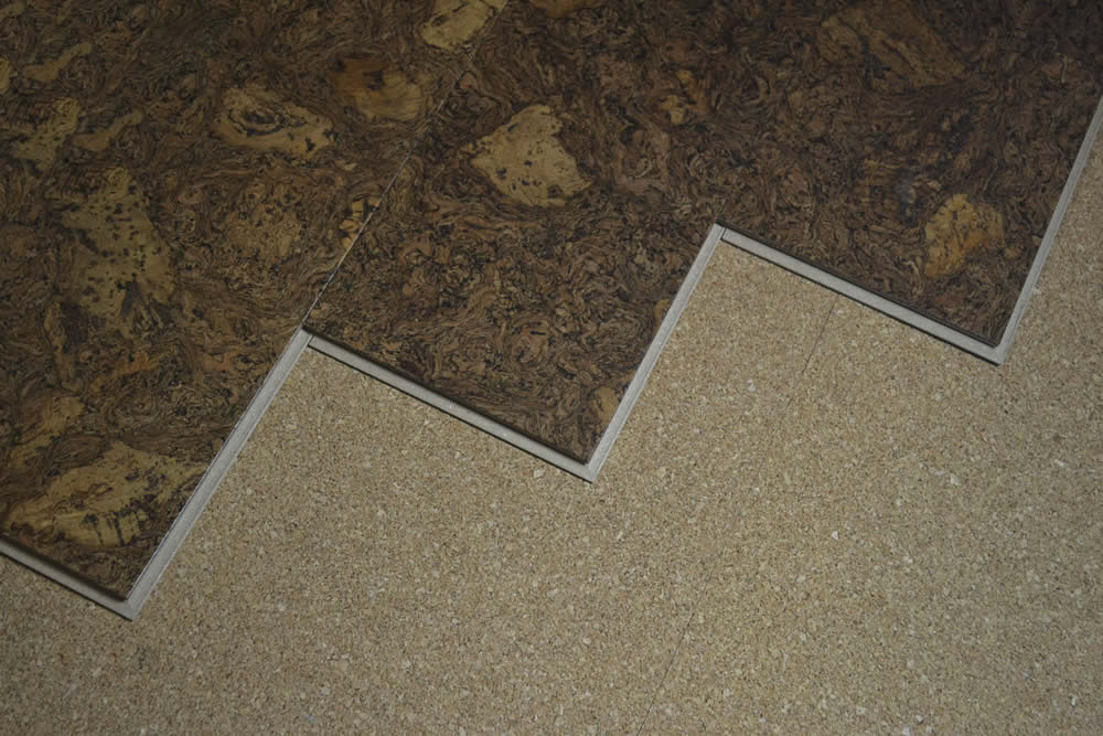 Acoustic Installation Cork Floor