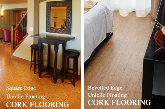 easy install cork floating flooring