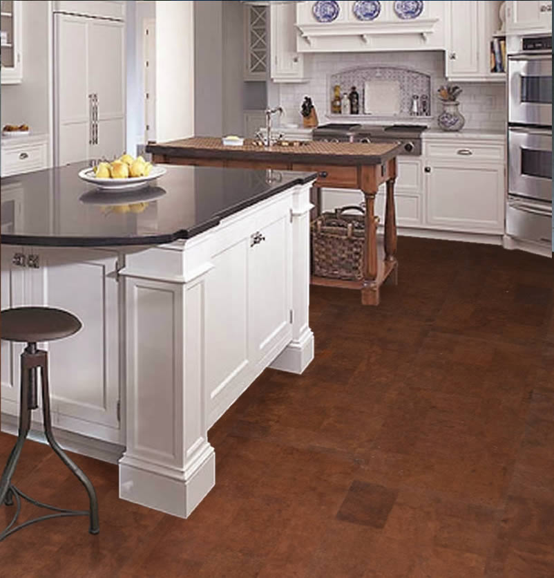Articles about cork flooring installation durability for Kitchen designs cork