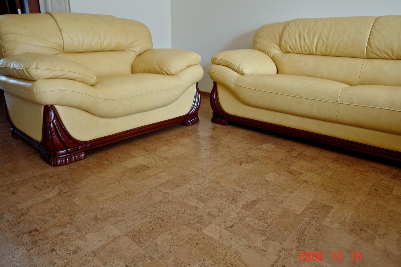 Elegant leather floor tiles pics designs dievoon for Leather flooring