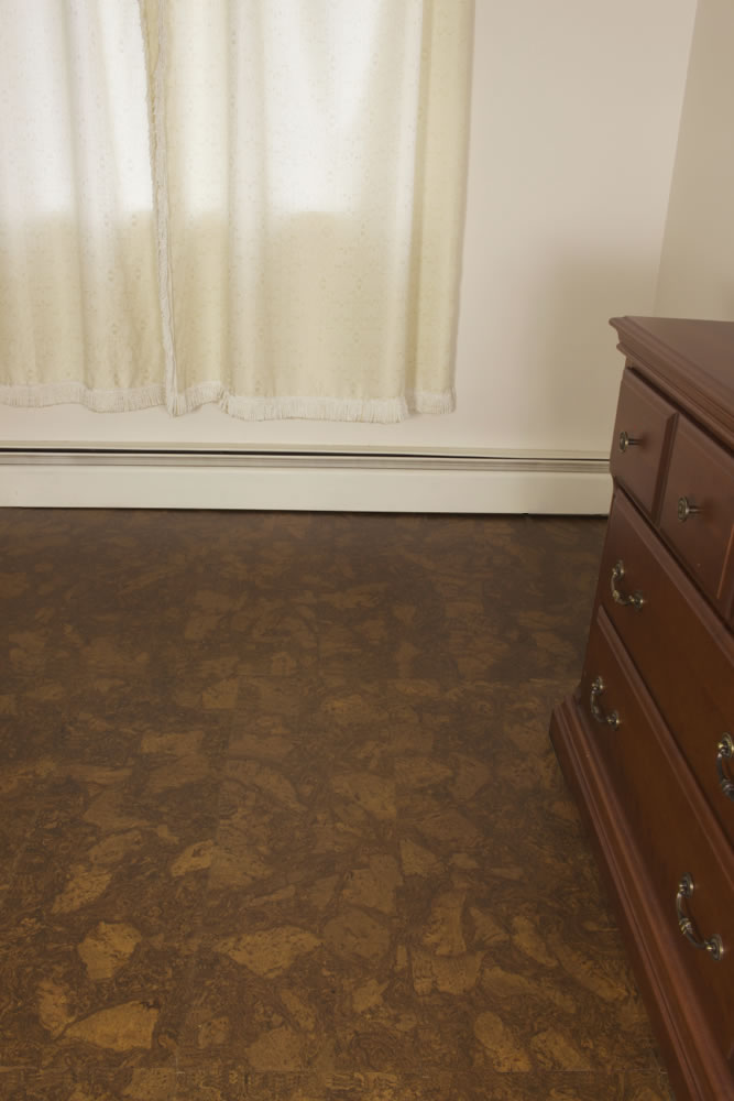 Cork flooring best moisture barrier for for Basement flooring options cork