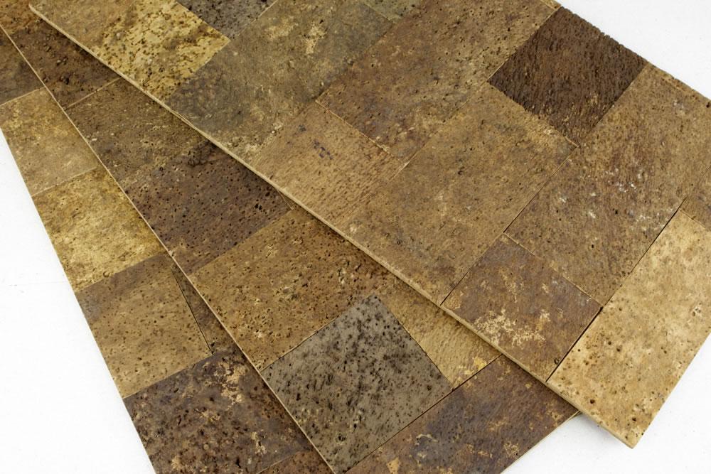 brindled natural cork wall tile coloured tiles uk bark