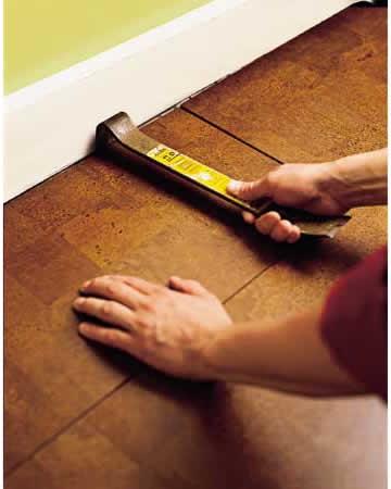 How to install cork flooring step 7 cancork floor inc - Advantages of installing a cork flooring ...